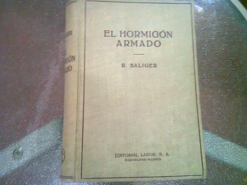 Libro El Hormigon Armado X  R Salinger
