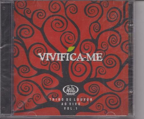 Tribo De Louvor - Vivifica-me - Bola De Neve - Cd - Gospel Original