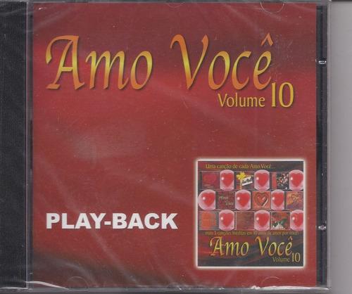 Amo Você - Volume 10 - Raridade - Playback - Mk Music Original