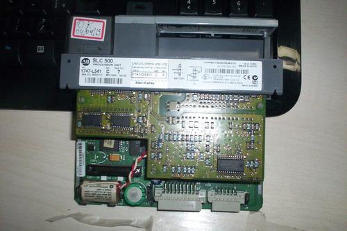 Cpu Clp Slc500 Allen-bradley 1747-l541  N. Fiscal E Garantia Original