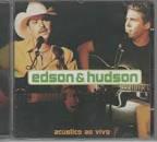Cd  Edson & Hudson  -   Acústico  - B212 Original