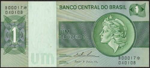 1 Cruzeiro Série B - 131a - Série 0017 - Fe - Br2368