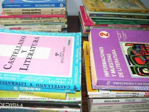 Libros De Texto De Bachillerato Clasificados Por Año