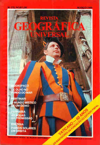 Geográfica Universal 172 * Mar/89 Original