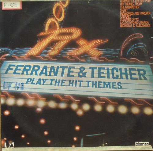 Lp (326) Vários - Ferrante & Teicher - Play The Hit Themes Original