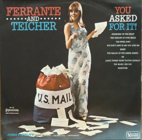 Lp (326) Vários - Ferrante & Teicher - You Asked For It! Original