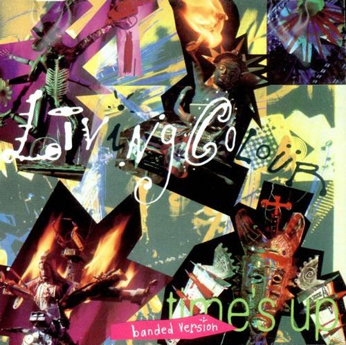 Cd - Living Colour - Times Up - Nac Original
