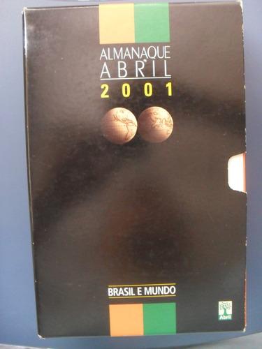 Almanaque Abril 2001 Sebo Refugio Cultural!!!! Original