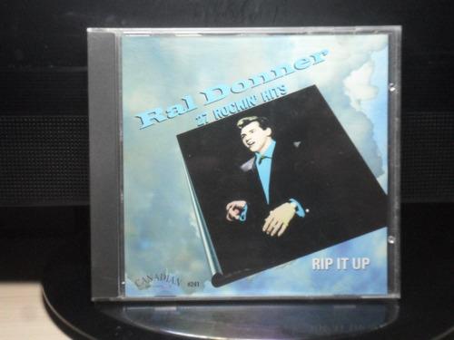 Ral Donner Rip It Up 27 Rockin Hits Cd Orig Imp Raridade Av8 Original