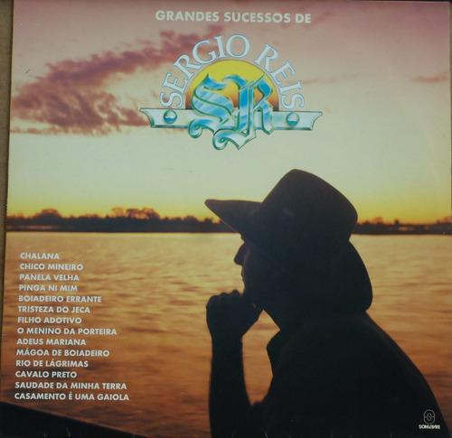 Lp (027) Sertanejo - Sergio Reis - Os Grandes Sucessos Original