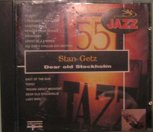 Stan Getz - Dear Old Stockholm - Cd Usado Importado Madrid Original