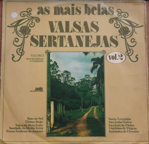 Lp (027) Sertanejo - As Mais Belas Valsas Sertanejas 2 Original