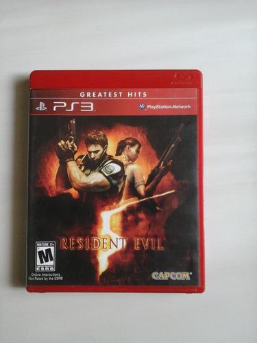 Jogo De Ps3 Usado Mas Excelente Estado. Resident Evil 5