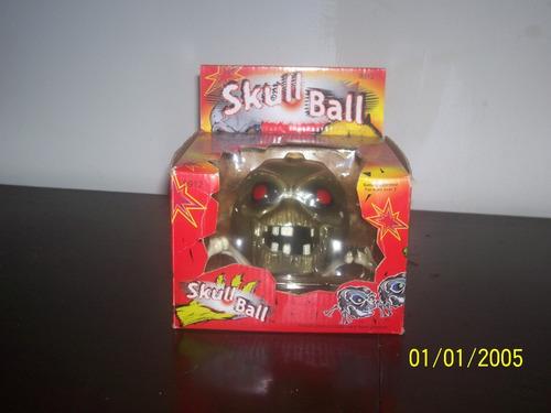 Brinquedo Caveira Aranha Movido A Pilha Na Caixa Halloween Original