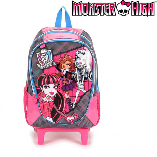 Mochilete Grande Monster High 14y01 Sestini 62820 Original