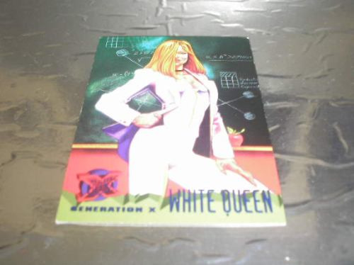 ( L - 350 ) Marvel Comics N. 79 Generation - X  White Queen Original