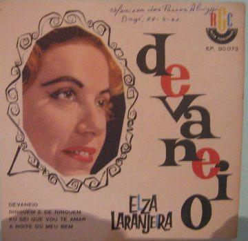 Elza Laranjeira  -  Devaneio  -  Compacto Original