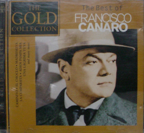 Cd   Francisco Canaro  -  Best Of   -  B152 Original