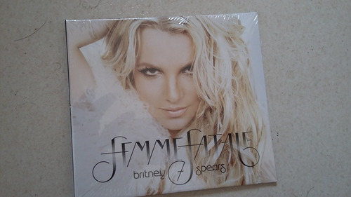 Cd Britney Spears Famme Fatale Lacrado. Original