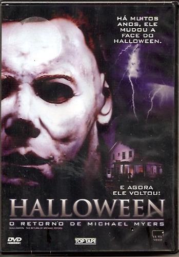 Dvd Halloween O Retorno De Michael Myers