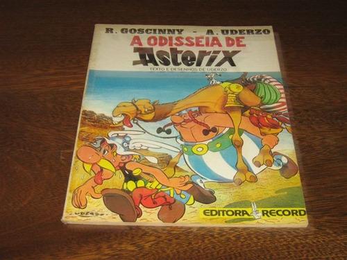 Asterix A Odisséia De Asterix  Editora Record Ano1981 Original