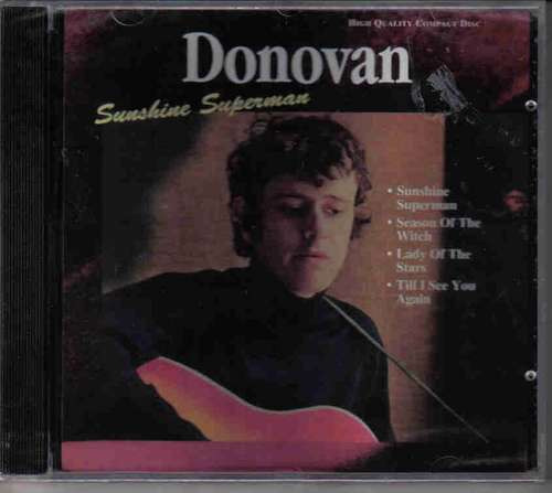 Donovan - Sunshine Superman - Cd Lacrado Original