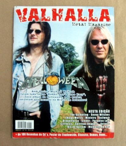 Valhalla - Helloween / N.º 19 /  À Cobrar Original