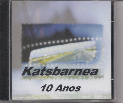 Katsbarnea - 10 Anos - Raridade - Cd - Gospel Original