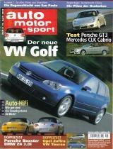 Auto Motor Und Sport * 16/04/03 * Importada Original