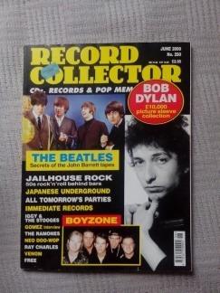 **record Collector**  **(beatles, Dylan, Ramones)** Original