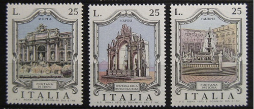 21 Selos - Italia - Serie Completa - Fontane - Fontes - Nova