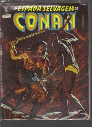 A Espada Selvagem De Conan N 49 - Editora Abril Original