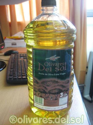 Aceite Oliva Extra Virgen Olivares X 3 L + Salsa No Merc Env