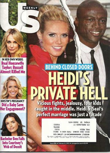 Revista Us: Heidi Klum / Katharine Mcphee / Mariah Carey Original