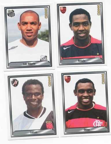 Figurinhas Campeonato Brasileiro 2006 - Novíssimas