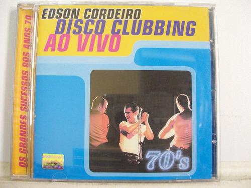 Edson Cordeiro, Disco Clubbing Ao Vivo, Cd Original
