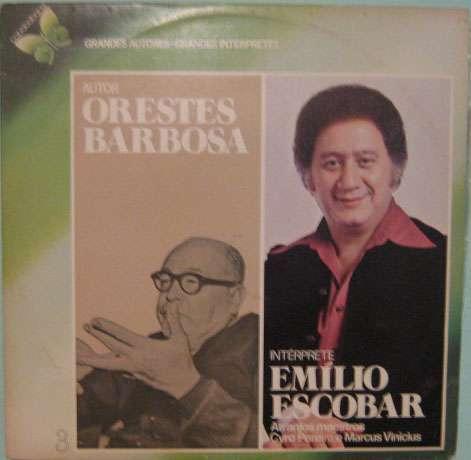 Emílio Escobar - Grandes Autores-grandes Intérpretes - 1978 Original