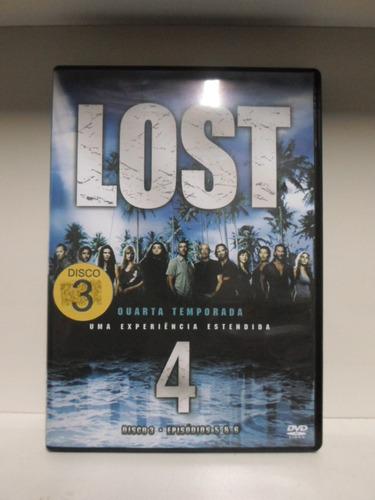 Dvd Lost - Quarta Temporada - Disco 3 - Original