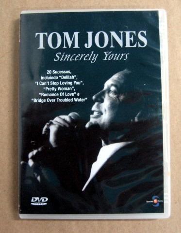 Tom Jones - Sincerely Yours / Dvd /  À Cobrar Original