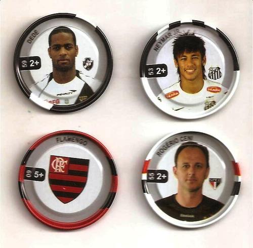 Flipix Tazos Do Campeonato Brasileiro 2012 - Tenho Muitos