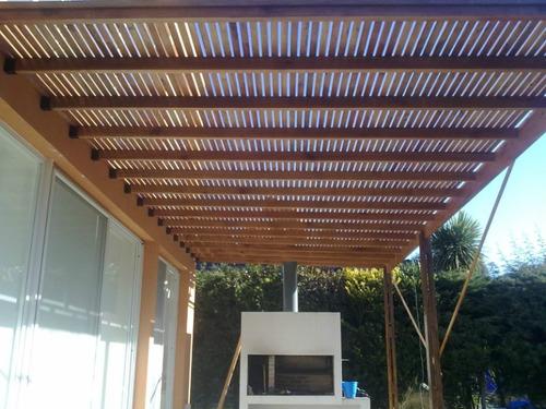 Colocacion Pergolas Deck Colocado Terminado