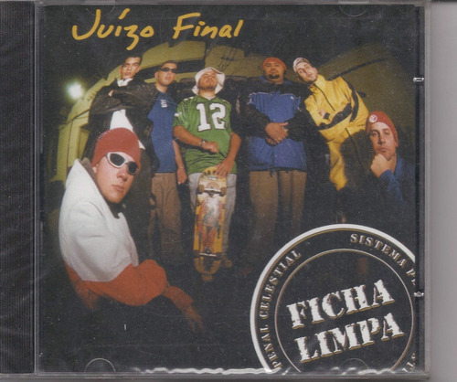Juízo Final - Ficha Limpa - Raridade - Cd - Gospel Original