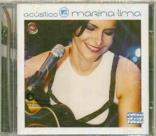 Cd Marina Lima - Acústico Mtv Original