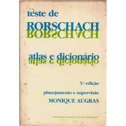 Teste Rorschach -  Monique Augras / Livro Muito Conservado Original