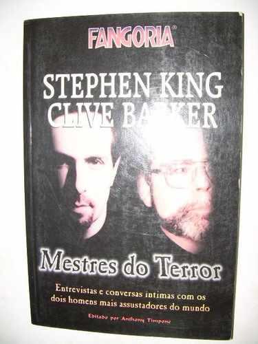 Fangoria Mestres Do Terror Stephen King E Clive Barker Original