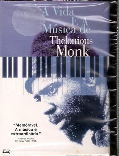 Dvd: A Vida E A Música De Thelonious Monk Original