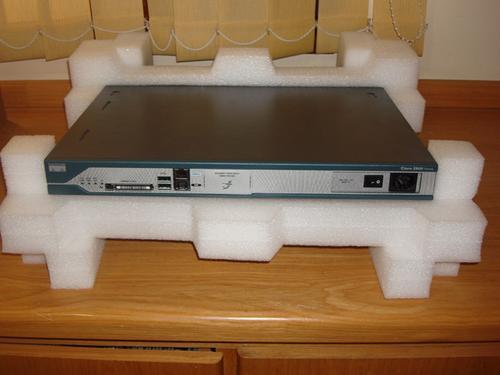 Roteador Cisco 2811-  Novo Na Caixa Original
