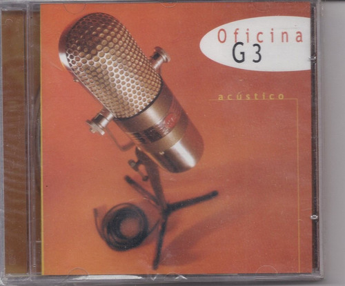 Oficina G3 - Acústico - Raridade - Cd - Gospel Original