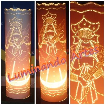 Luminárias Em Pvc - Nãnã - Candomblé Original