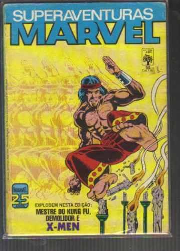 Superaventuras Marvel Numero 50 - Editora Abril Original